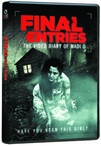 Final Entries: The Video Diary of Madi O DVD