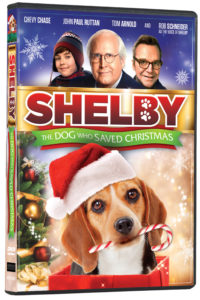 Shelby: The Dog Who Saved Christmas DVD