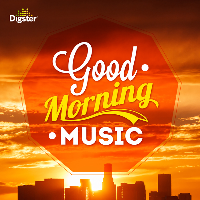 Good Morning Music Spotify cover for Digster/Universal Music Canada