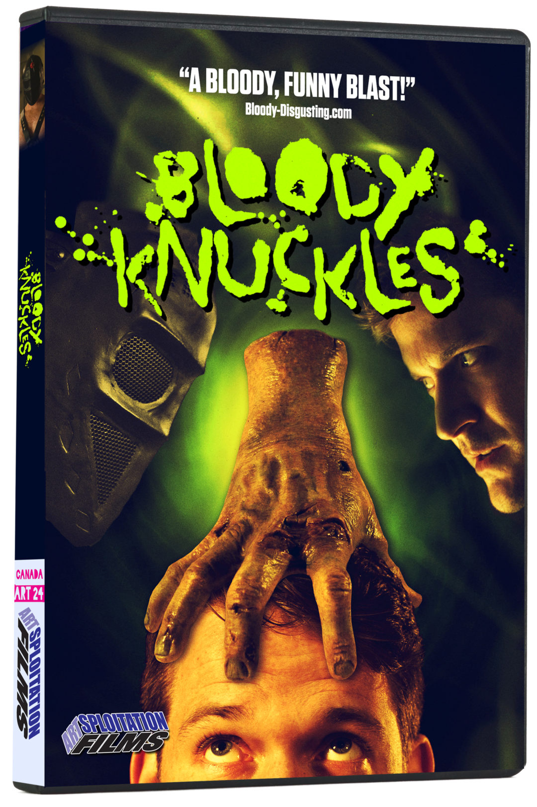 Bloody Knuckles DVD