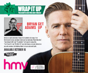 Bryan Adams Get Up Ad
