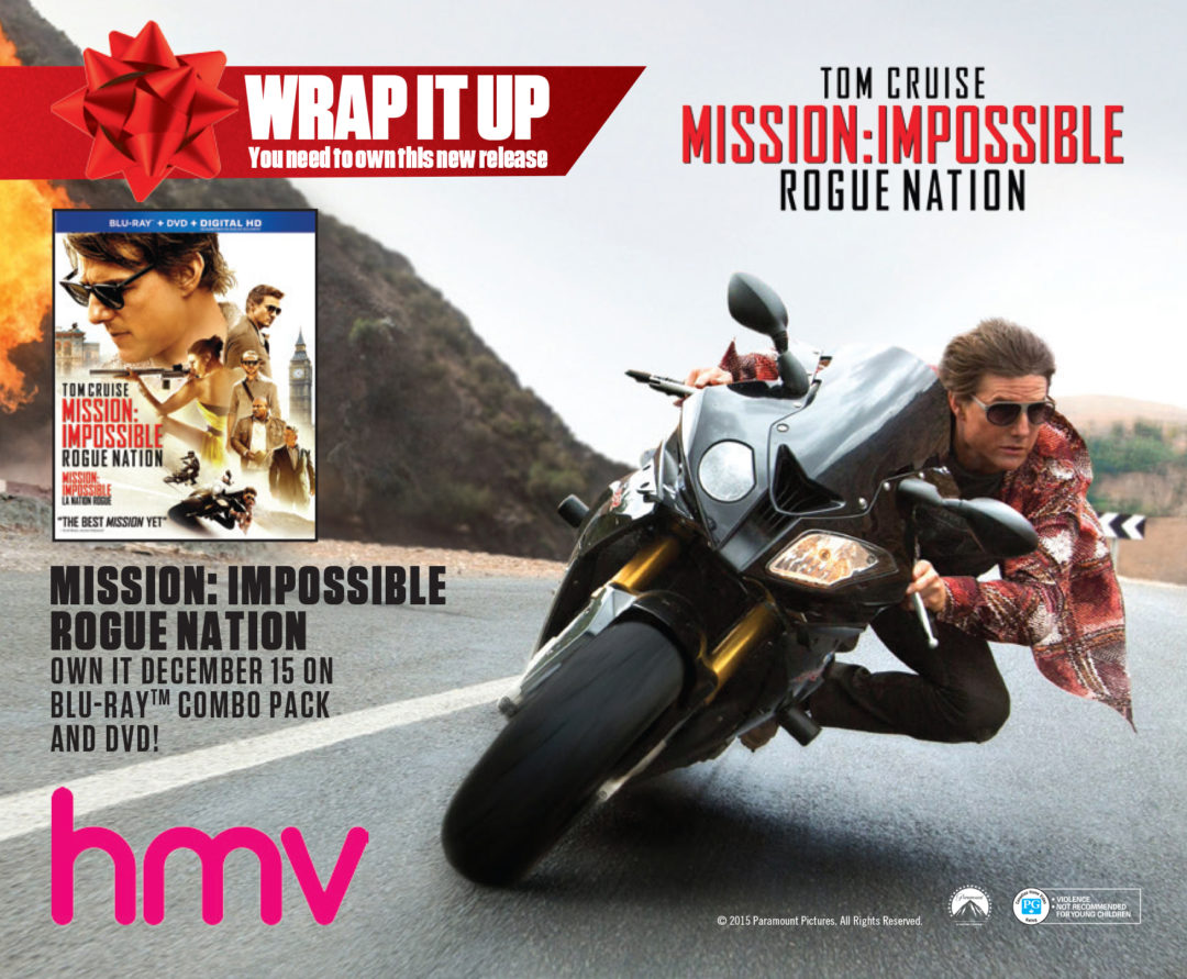 Mission: Impossible – Rogue Nation Ad