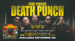 Five Finger Death Punch Ad