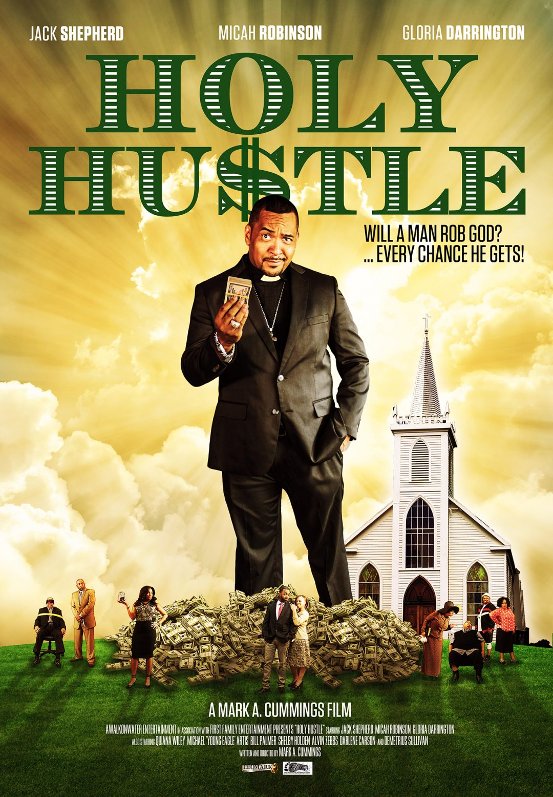 Holy Hustle Poster