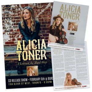 Alicia Toner – Gig Poster & One Sheet