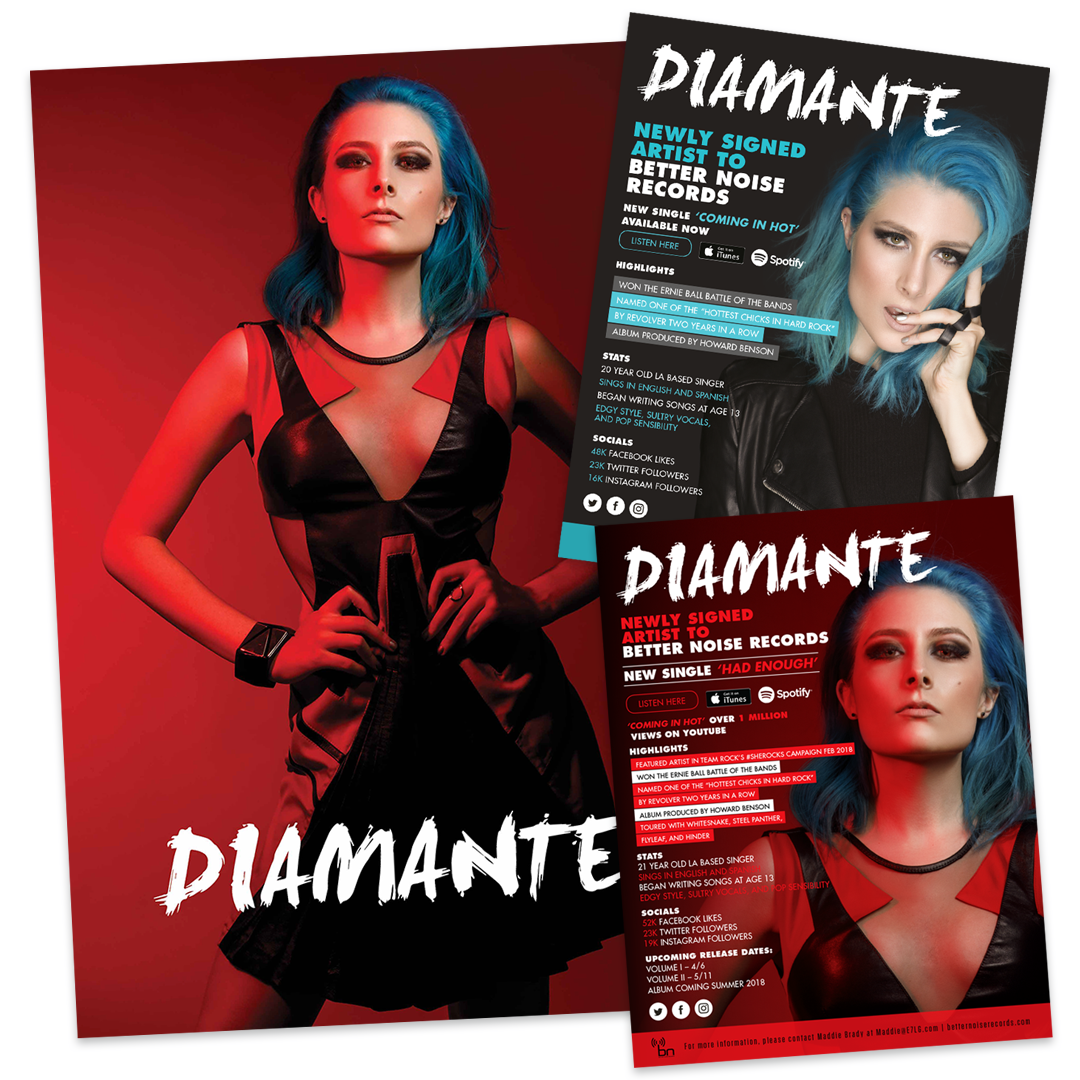 Diamante – Poster & One Sheets