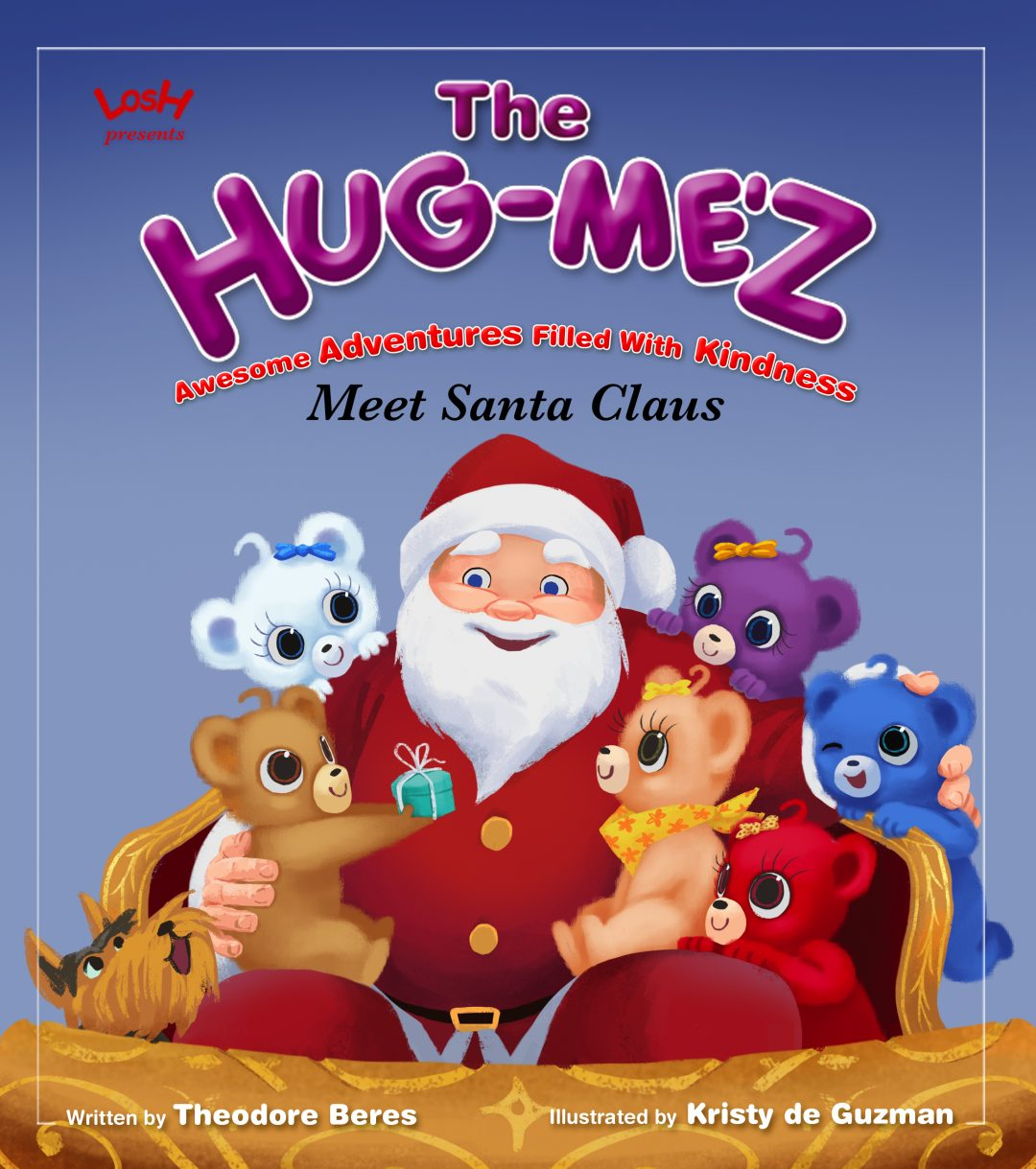 The Hug-Me'z Meet Santa Claus Book Cover