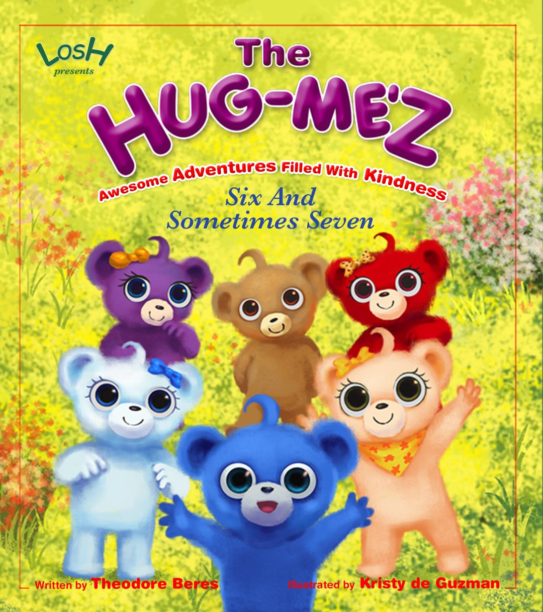 The Hug-Me'z Six and Sometimes Seven Book Cover