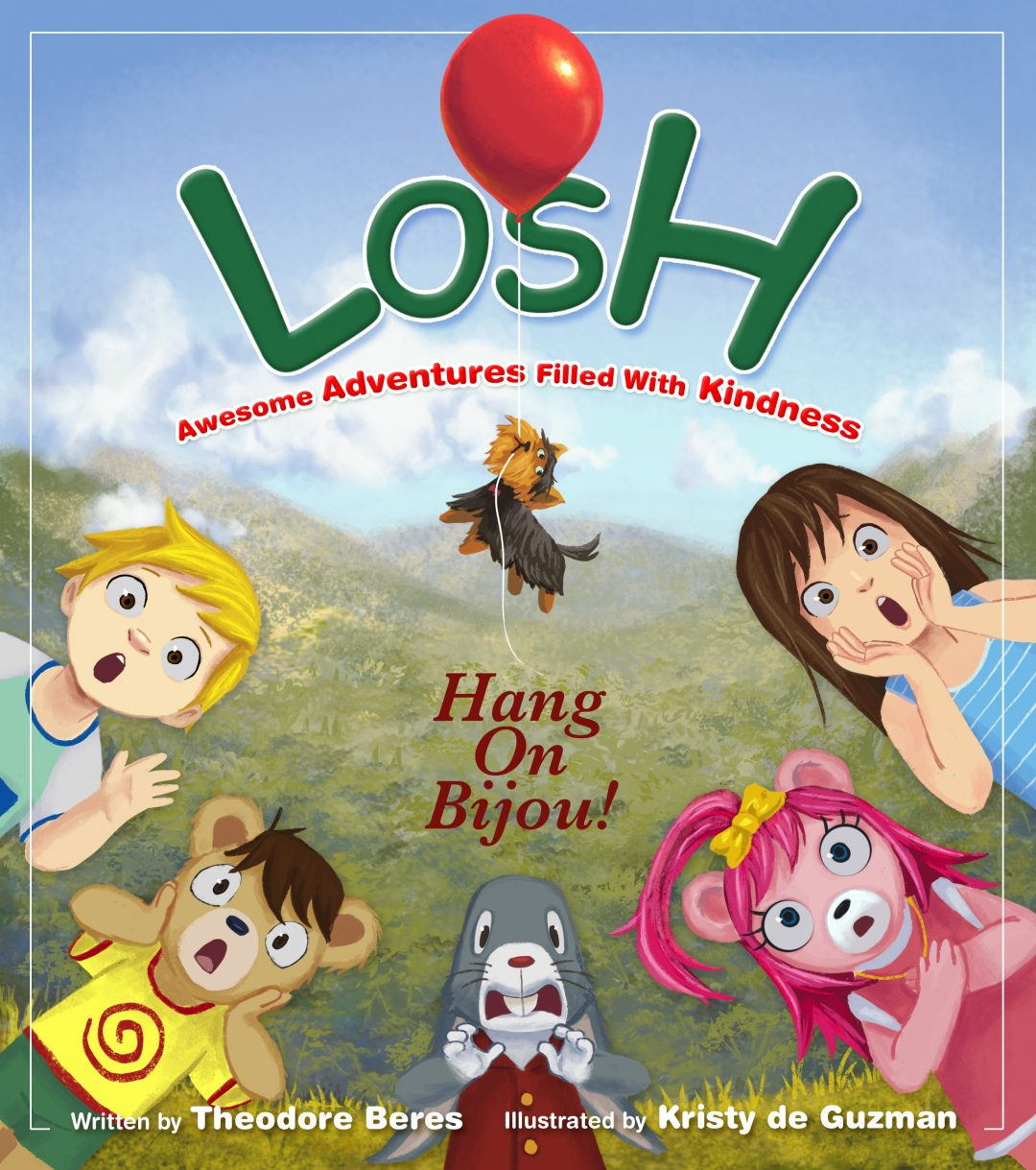 Losh Hang on Bijou Book Cover