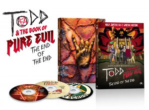 Todd & the Book of Pure Evil: End of the End Blu-ray